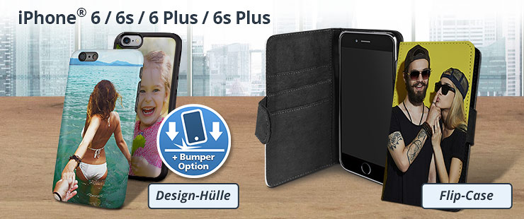 iPhone 6 Plus und iPhone 6s Plus Hülle mit eigenem Foto