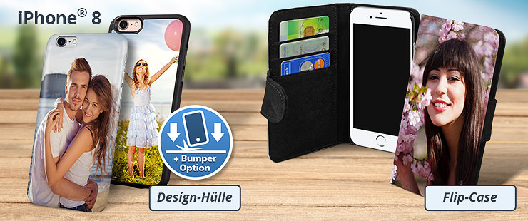 Individuelle iPhone 8 Hülle bedrucken
