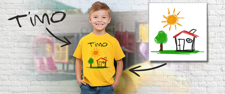 Kids T-Shirts im PhotoFancy-Shop