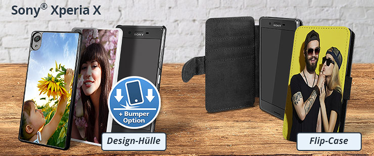 sony xperia x handytasche individuell bedrucken lassen. Black Bedroom Furniture Sets. Home Design Ideas