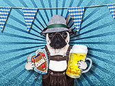 O'zapft is! Oktoberfest-Mops
